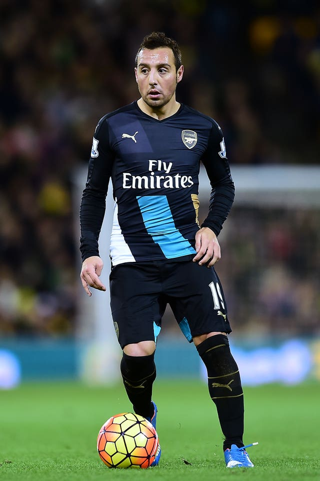 Santi Cazorla was previously on the books at Arsenal