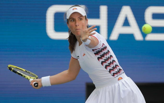 Johanna Konta made too many unforced errors against Elina Svitolina
