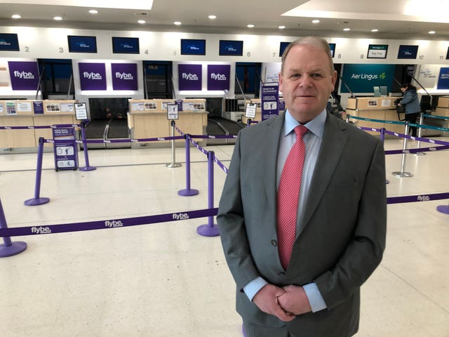 Chief executive of Belfast Airport Brian Ambrose