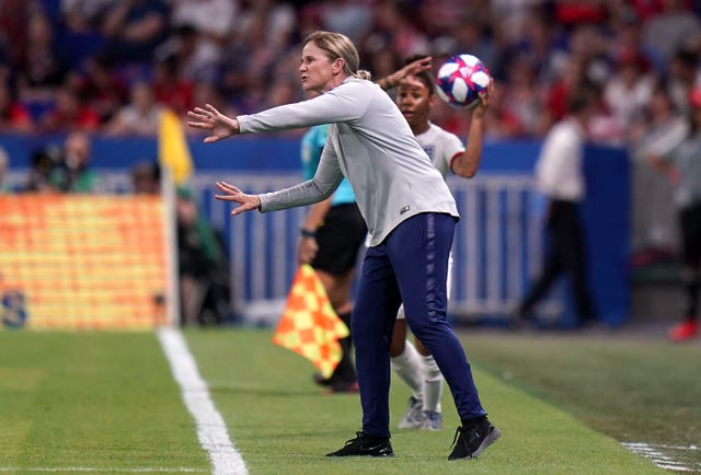Jill Ellis led the United States to glory in the 2015 and 2019 World Cups (John Walton/PA)