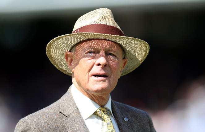 Geoffrey Boycott is one of English cricket's two newest knights