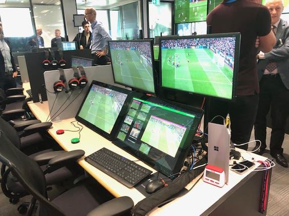 VAR will be based at Stockley Park, London
