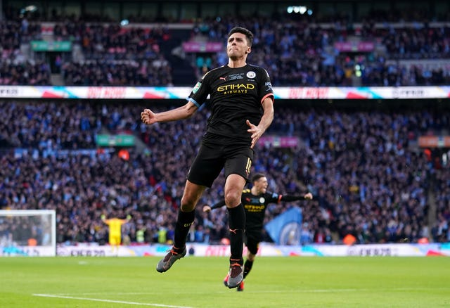 Rodri scored City's second