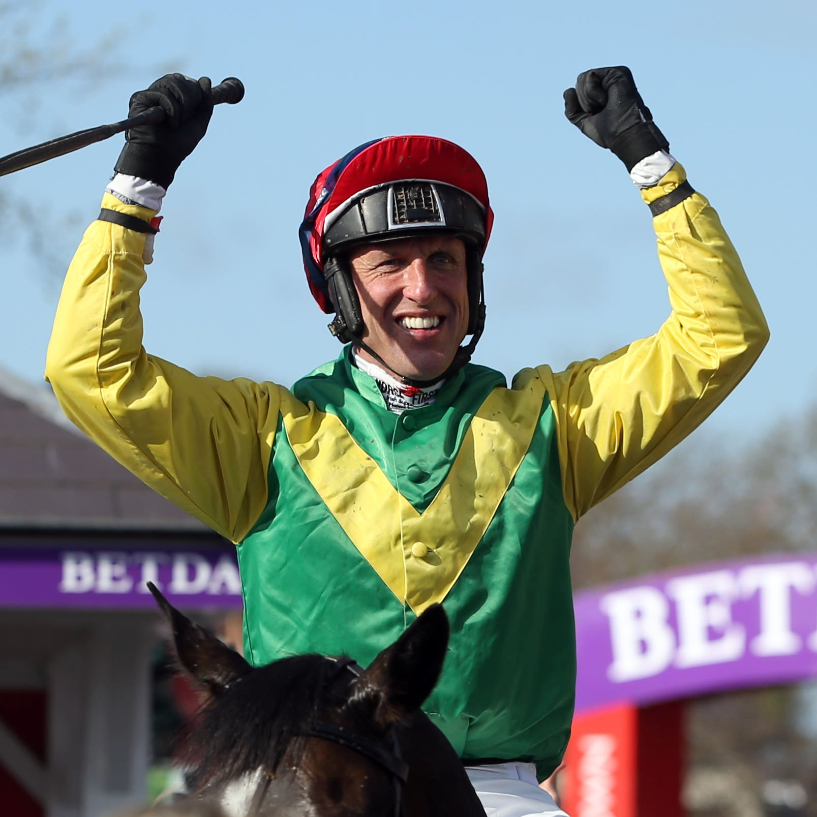 Jockey Robbie Power is out injured for a couple of weeks