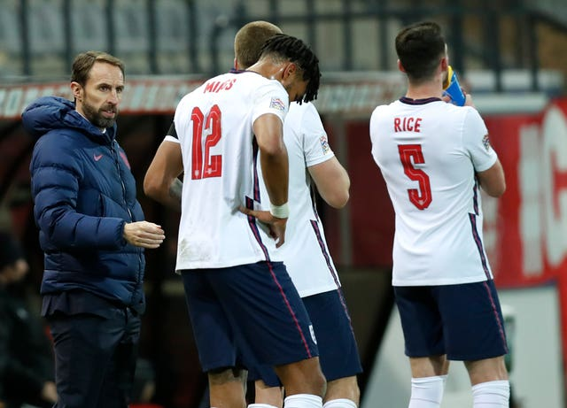 Gareth Southgate's men can no longer progress in the Nations League