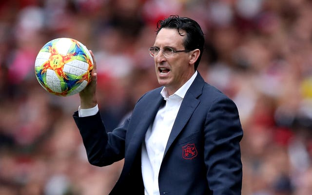 Unai Emery takes his side back to Anfield on Saturday