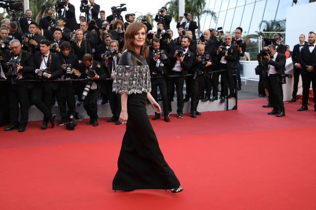 Julianne Moore  in Cannes