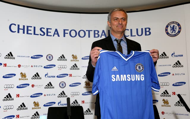 After departing Madrid, Mourinho returned to Chelsea