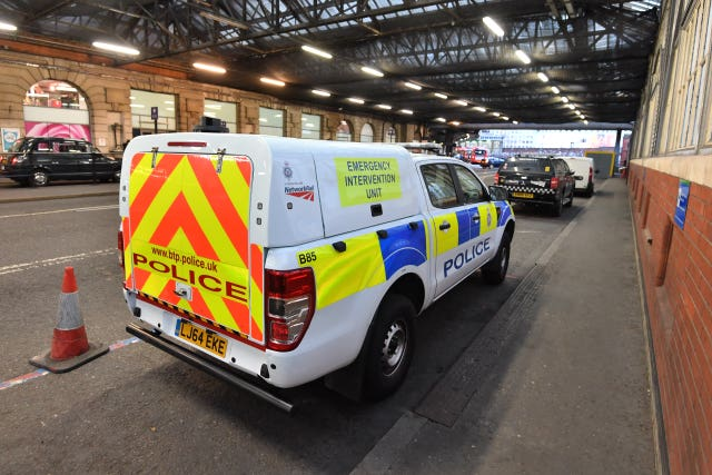 A small improvised explosive device was found at Waterloo station