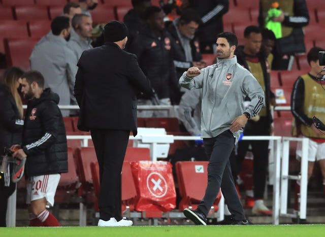 Mikel Arteta's men have won both of their Europa League group matches so far
