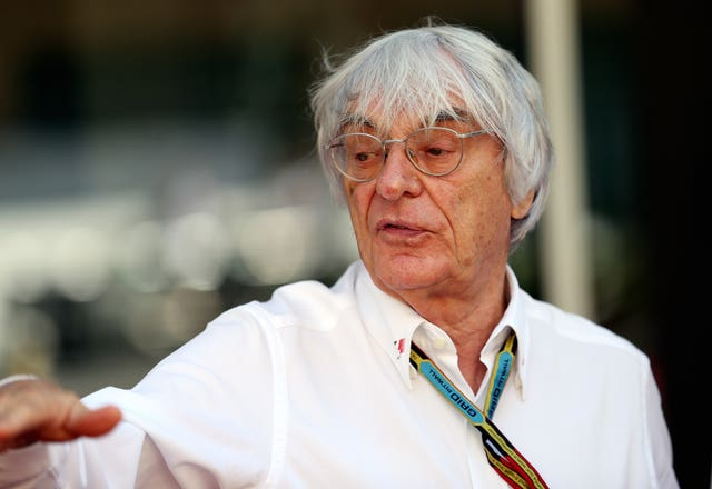 Bernie Ecclestone believes this year's Formula One season should be cancelled (David Davies/PA)