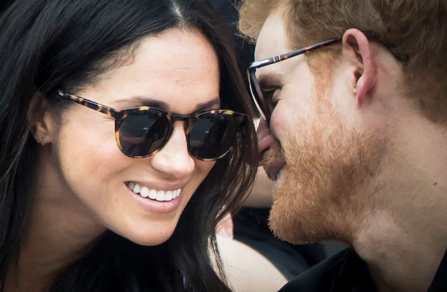 Meghan and Harry will exchange marriage vows in just over a week (Danny Lawson/PA)