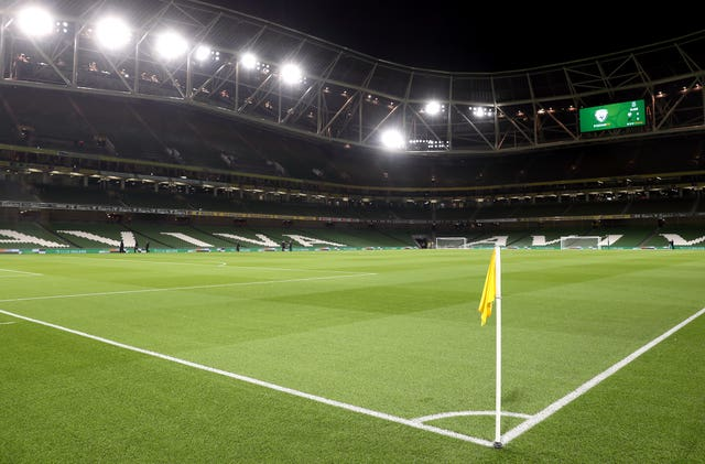 The Aviva Stadium will host three group stage matches and one knock-out tie at the Euro's