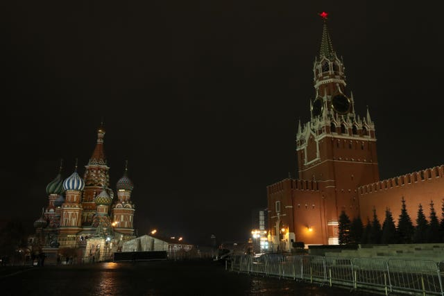 Moscow's Red Square (Nick Potts/PA)