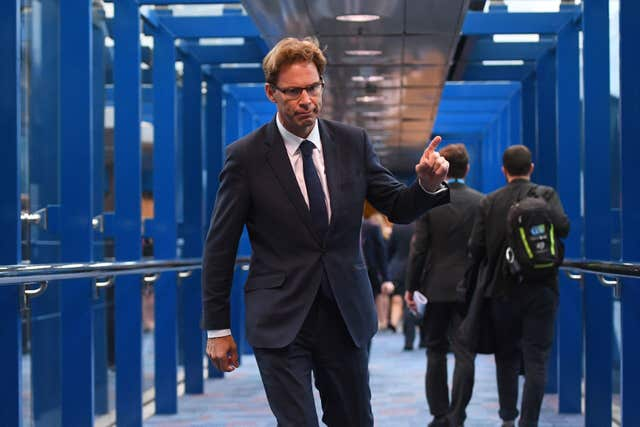 Tobias Ellwood urged the Government to allow a free vote on ruling out a no-deal Brexit (Victoria Jones/PA)