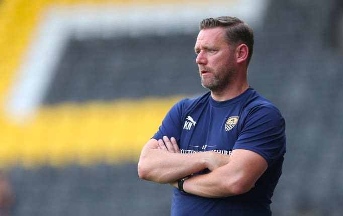 Kevin Nolan was most recently manager of Notts County