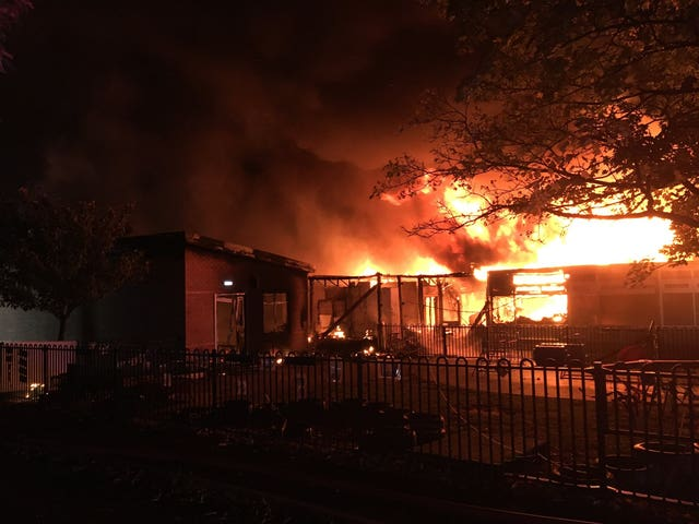 Ravensdale Infant School fire