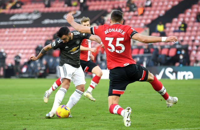 Southampton v Manchester United – Premier League – St Mary's Stadium