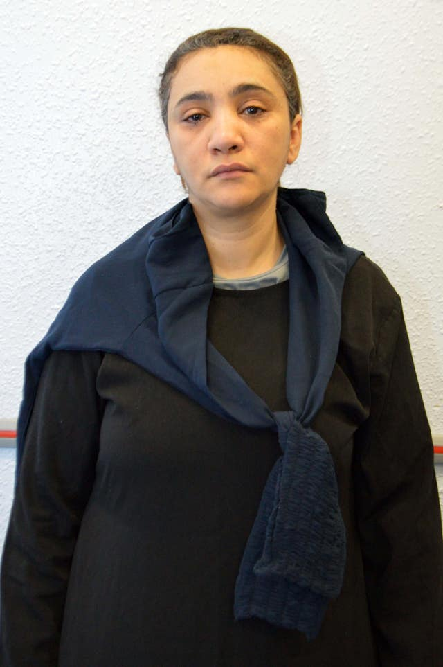 Mina Dich, 44, has pleaded guilty to assisting her daughter Rizlaine Boular (Metropolitan Police/PA)