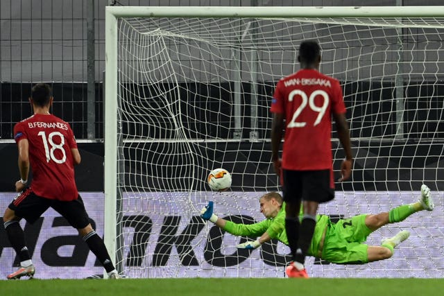 Bruno Fernandes' penalty was the difference in Cologne