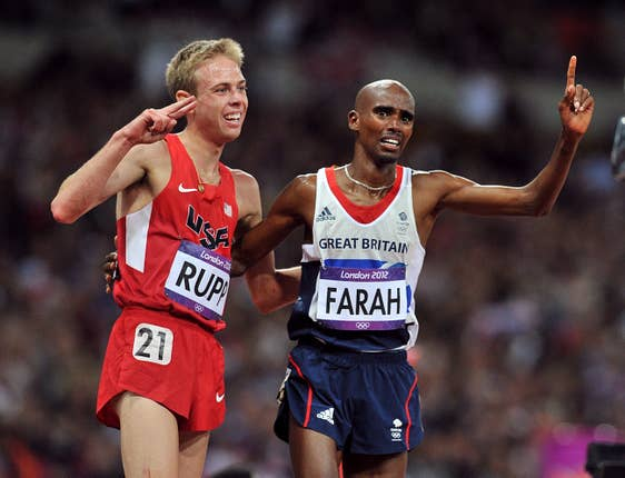 Galen Rupp is a former training partner of Mo Farah