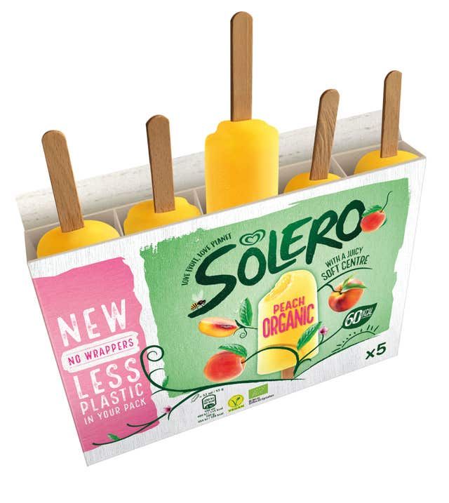 Younger people are also far less likely to say that a Solero is an ice lolly