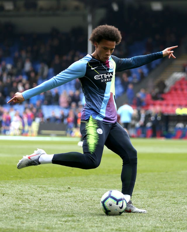 Leroy Sane struggled for playing time with Manchester City in the 2018-19 campaign