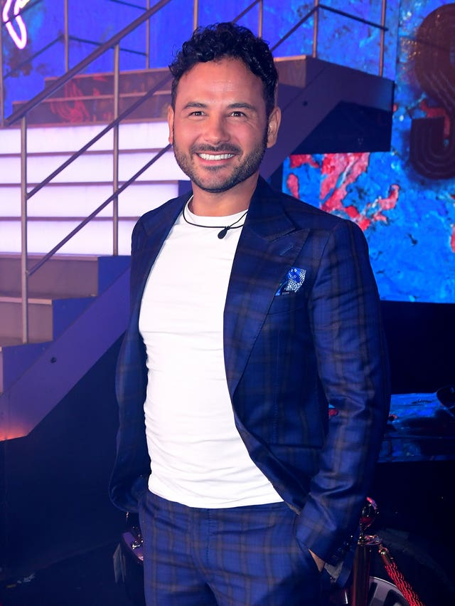Celebrity Big Brother Ryan Thomas