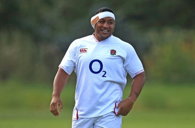 Mako Vunipola qualified for England through residency.