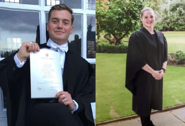 Jack Merritt and Saskia Jones died in the attack (Metropolitan Police/PA)