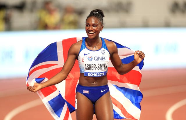 Dina Asher-Smith hopes to add to her 2019 World Championship success at the Tokyo Olympics (Mike Egerton/PA).