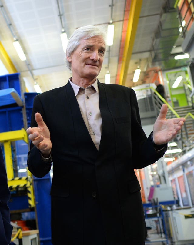 James Dyson – Boris Johnson text messages