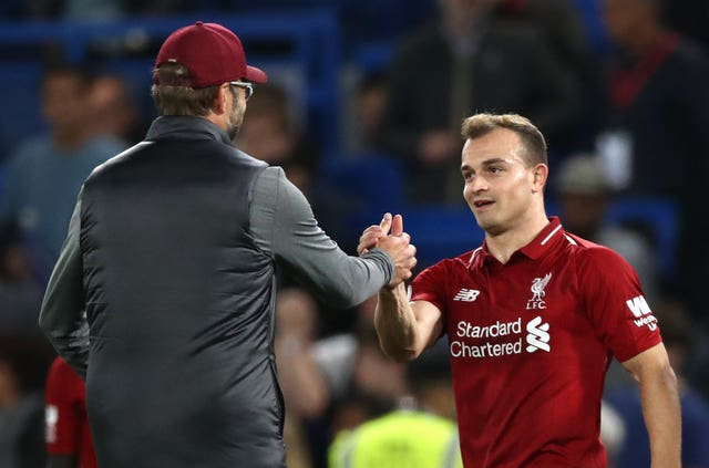 Xherdan Shaqiri was signed by Liverpool boss Jurgen Klopp but has fallen down the pecking order at Anfield.