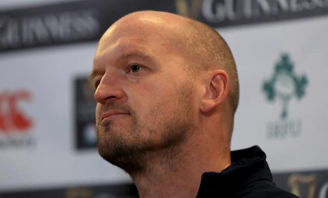 Gregor Townsend held talks with Finn Russell after he initially left the camp