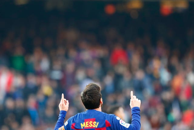 Messi was four-some against Eibar