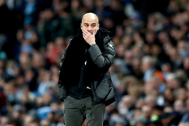 Pep Guardiola's City could face Napoli in the last 16