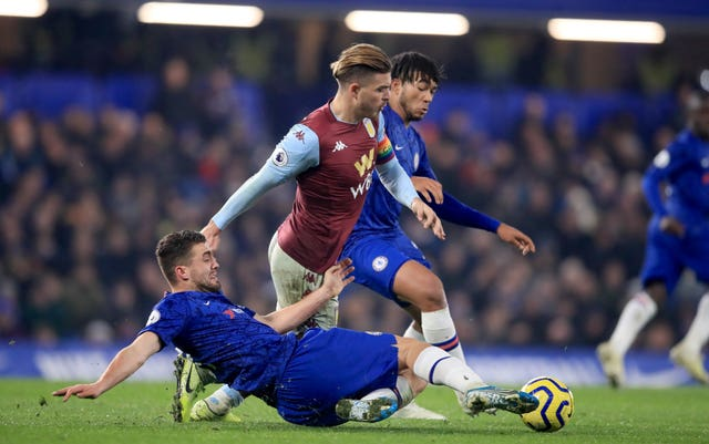 Jack Grealish has been a closely-marked man in the Premier League