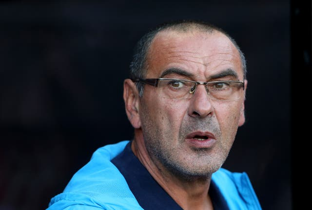 Maurizio Sarri is the favourite to succeed Antonio Conte as Chelsea boss
