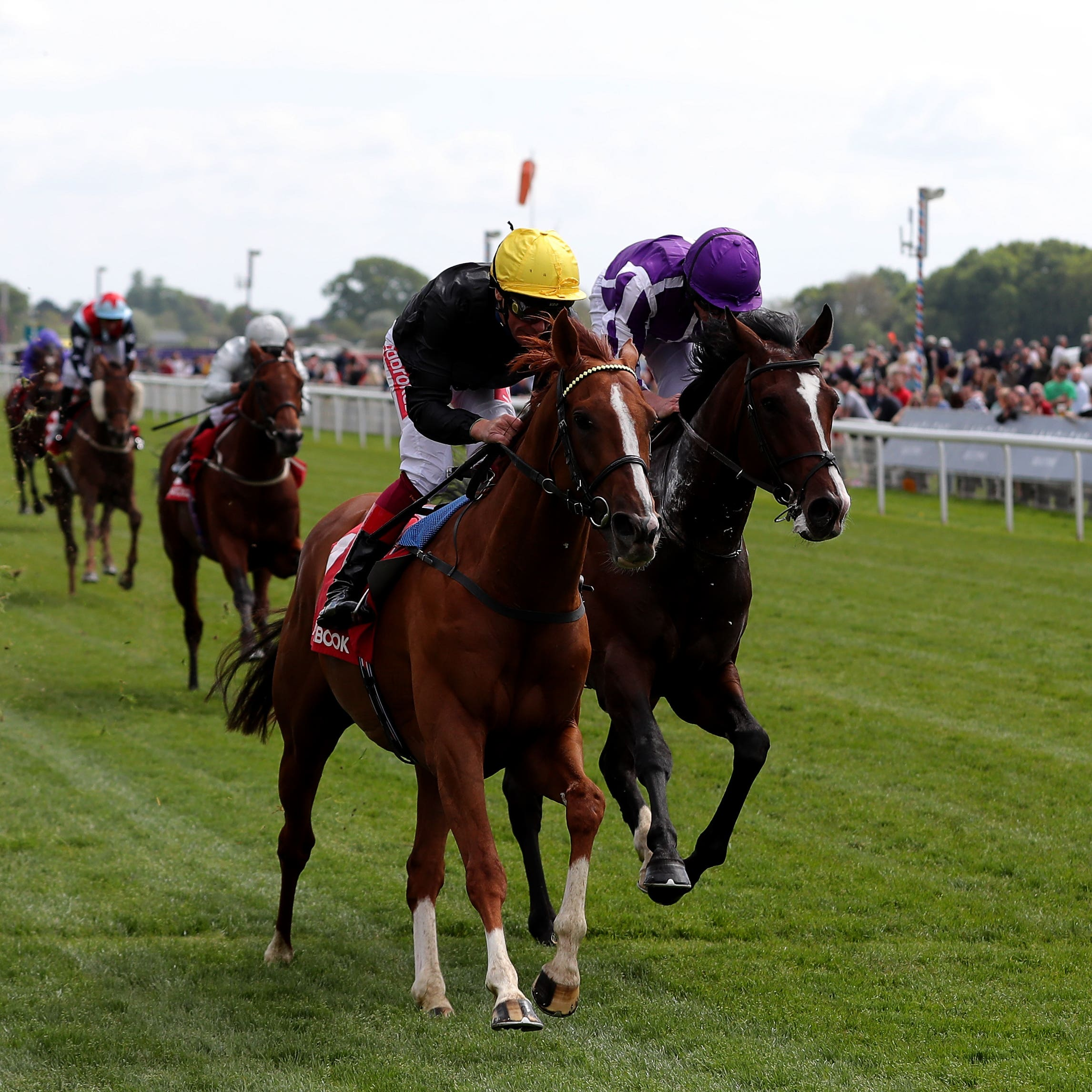 Stradivarius and Frankie Dettori landed a repeat success in the Yorkshire Cup