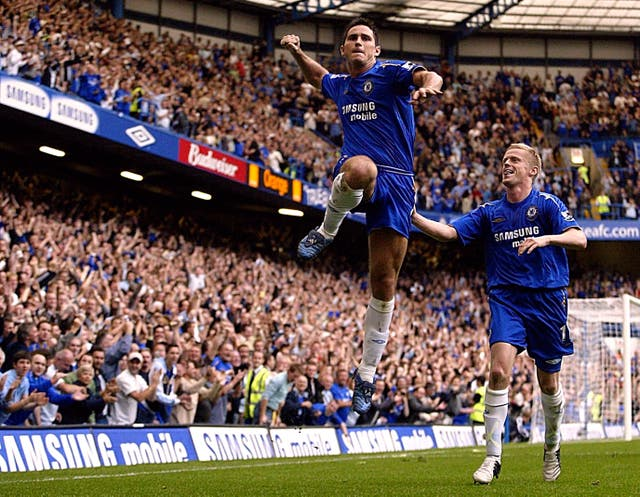 Lampard continued to be a regular on the scoresheet as the 2005-06 season got under way