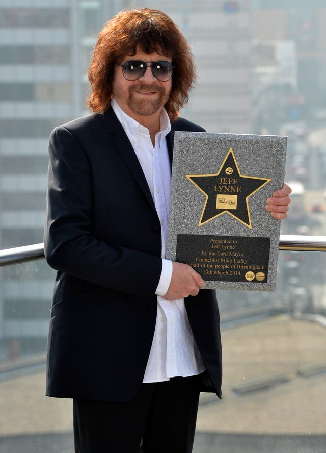 Jeff Lynne honoured with star