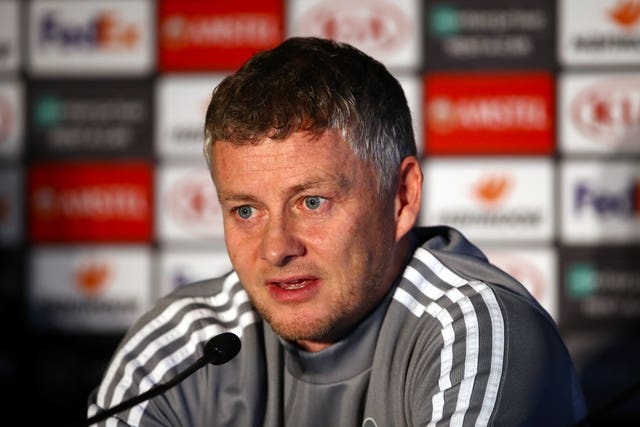 Ole Gunnar Solskjaer has a number of players out injured ahead of Thursday's Europa League clash