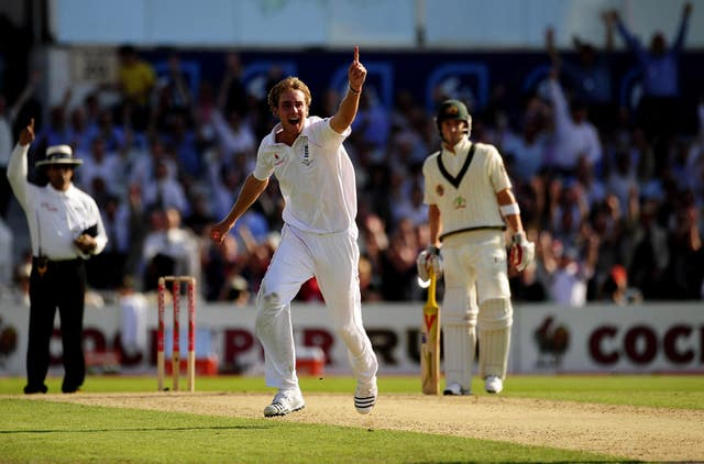 Broad bowled his maiden five-for with his then-best figures of six for 91 as England slumped to an innings defeat against Australia at Headingley in 2009