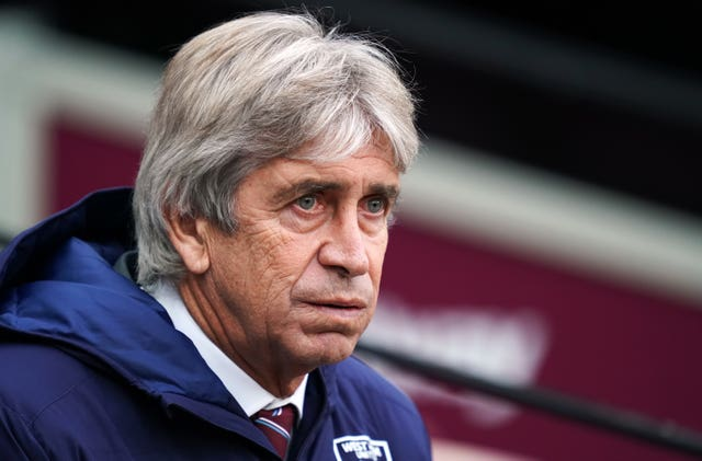 Manuel Pellegrini rarely changes his tactics