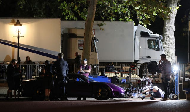 Fast and Furious filming