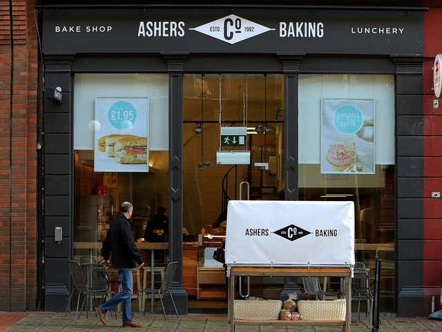 Ashers Bakery in Belfast (Brian Lawless/PA)