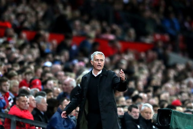 Jose Mourinho saw his side beaten at Old Trafford