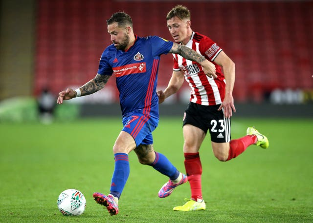 Ben Osborn has so far found playing time restricted at Bramall Lane