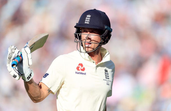 Joe Denly attended the birth of his second child at the end of the first day and he hit a Test-best 94 on the third to put England in a commanding position