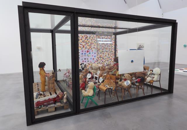 Damien Hirst exhibition at Newport Street Gallery